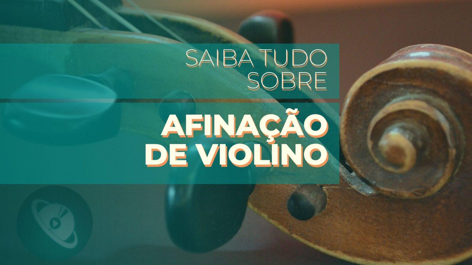 afinação de violino